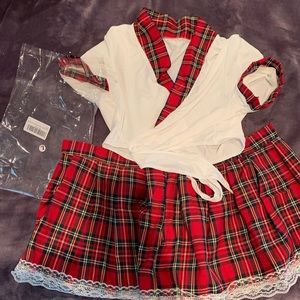 Other - Large school girl costume / outfit NWT